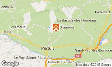 Mapa La Tour d'Aigues Casa de turismo rural/Casa de campo 92894