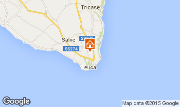 Mapa Santa Maria di Leuca Apartamentos 47295