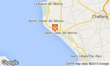 Mapa Saint Jean de Monts Apartamentos 64812