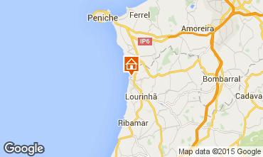 Mapa Lourinh� Apartamentos 74992
