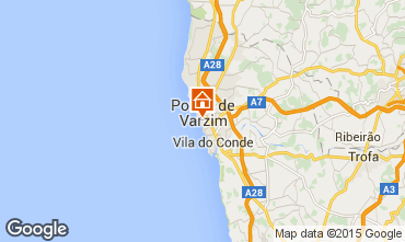 Mapa P�voa de Varzim Apartamentos 66746