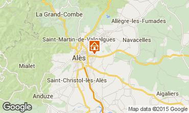 Mapa Alès Casa de turismo rural/Casa de campo 68431
