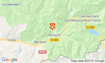 Mapa Aussois Chalé 91664