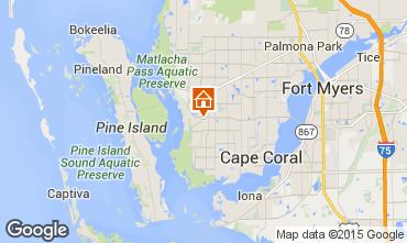 Mapa Cape Coral Vivenda 57904