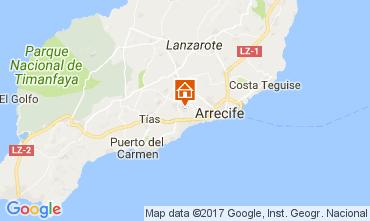 Mapa San Bartolom� de Lanzarote Quarto de h�spedes 101468