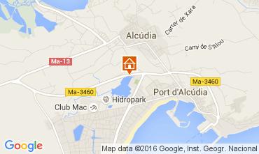 Mapa Alcudia Apartamentos 105219