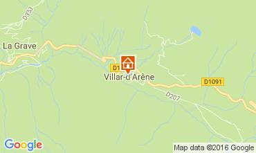 Mapa La Grave - La Meije Casa 4763