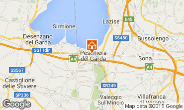 Mapa Peschiera del Garda Apartamentos 69648