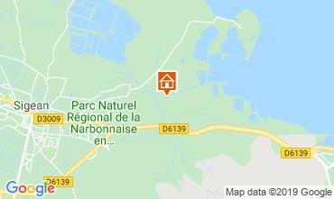 Mapa Port La Nouvelle Mobil Home 16026