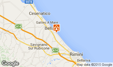 Mapa Bellaria Igea Marina Apartamentos 31595