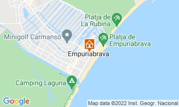 Mapa Empuriabrava Apartamentos 114955