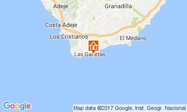 Mapa Costa del Silencio Apartamentos 65990