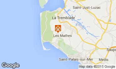 Mapa Les Mathes Mobil Home 80685