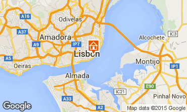Mapa Lisboa Apartamentos 74082
