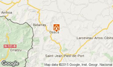 Mapa Saint Jean Pied de Port Apartamentos 82959
