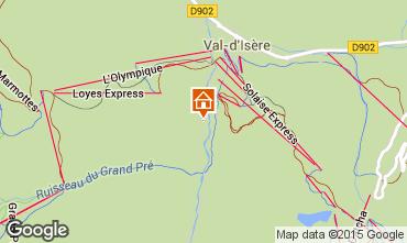 Mapa Val d'Isère Apartamentos 3347