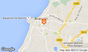 Mapa Biarritz Apartamentos 84307