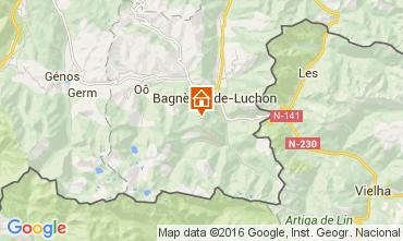 Mapa Luchon Superbagneres Apartamentos 104409