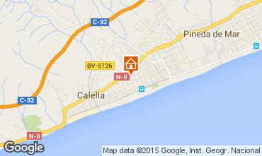 Mapa Calella de Mar Apartamentos 8169