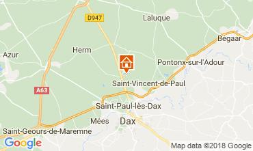 Mapa Saint Paul les Dax Casa 114907