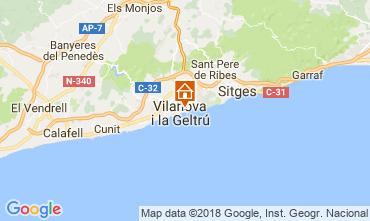Mapa Barcelona Apartamentos 114911