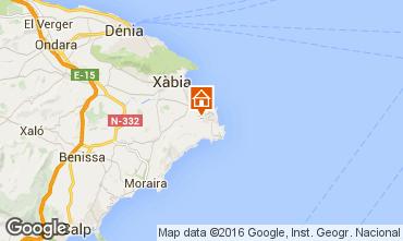 Mapa Jávea Vivenda 91445