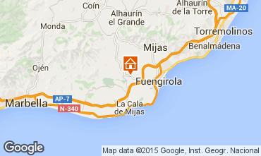 Mapa Mijas Apartamentos 95343