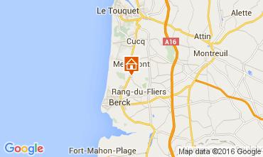 Mapa Le Touquet Casa 105490