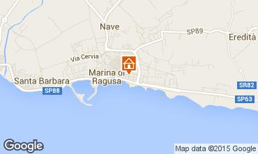 Mapa Marina di Ragusa Apartamentos 94320