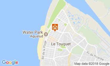 Mapa Le Touquet Apartamentos 114396