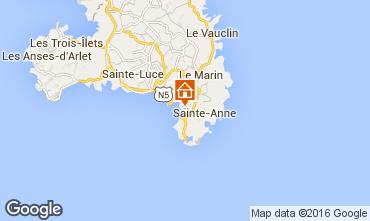 Mapa Sainte Anne (Martinique) Estúdio 30963