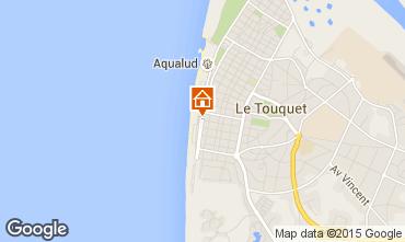 Mapa Le Touquet Apartamentos 30752