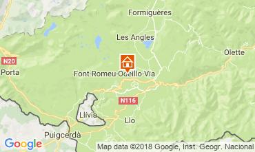 Mapa Font Romeu Apartamentos 3981