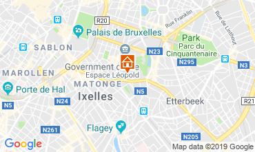 Mapa Bruxelas Apartamentos 118001