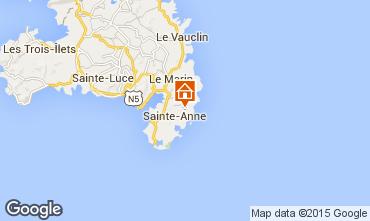 Mapa Sainte Anne (Martinique) Vivenda 8120