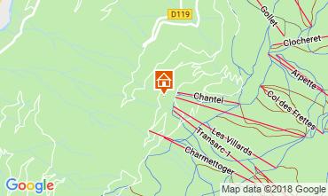 Mapa Les Arcs Estúdio 116977