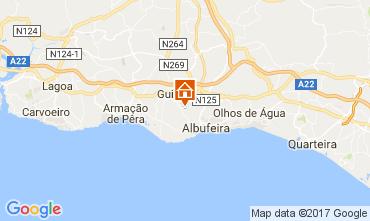 Mapa Albufeira Casa de turismo rural/Casa de campo 111914