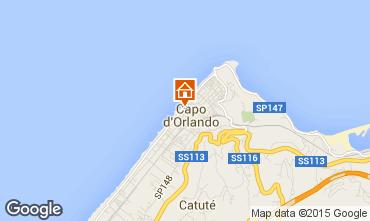 Mapa Capo d'Orlando Apartamentos 93140