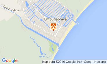 Mapa Empuriabrava Casa 104033