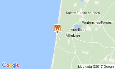 Mapa Mimizan Apartamentos 112735