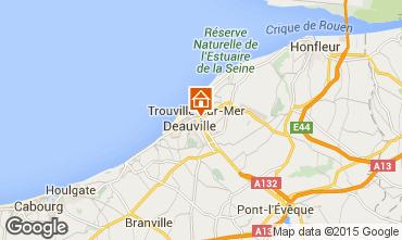 Mapa Trouville sur Mer Estúdio 25063