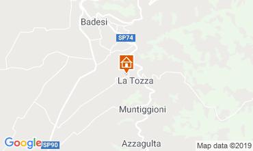 Mapa Badesi Casa 75261