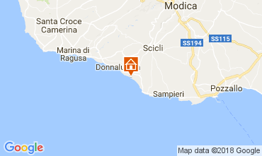 Mapa Donnalucata Vivenda 112801