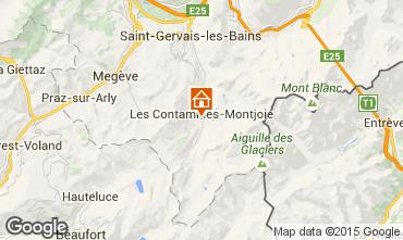 Mapa Les Contamines Montjoie Chalé 930