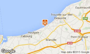 Mapa Villers sur Mer Casa 42353