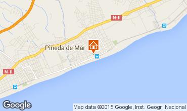 Mapa Pineda de Mar Apartamentos 79175