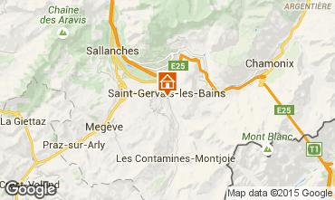 Mapa Saint-Gervais-les-Bains Apartamentos 80385
