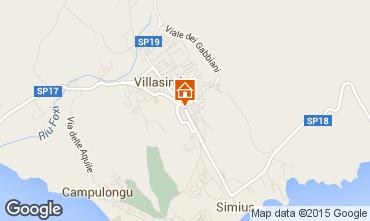 Mapa Villasimius Apartamentos 72288