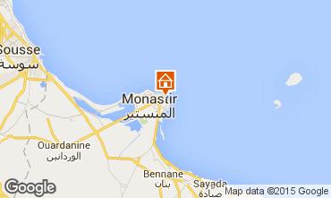 Mapa Monastir Apartamentos 69470