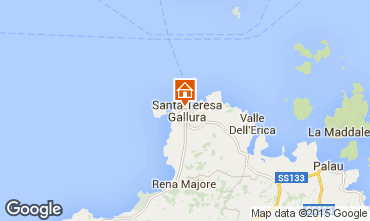 Mapa Santa Teresa di Gallura Apartamentos 87777